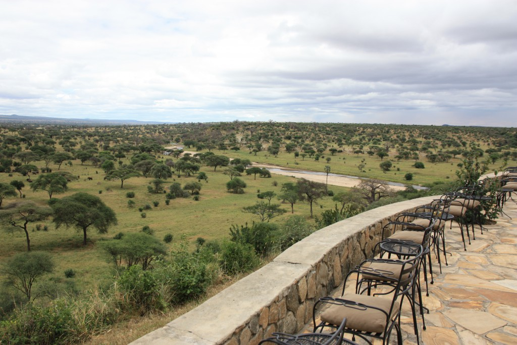 Ausblick Tarangire Safari Lodge
